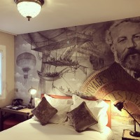 Our new classic single #room #25 #julesverne #hotel #renovation #paris #tourmaubourg #instahotel #travel #latourmaubourghotel #picoftheday #voyagesextraordinaires